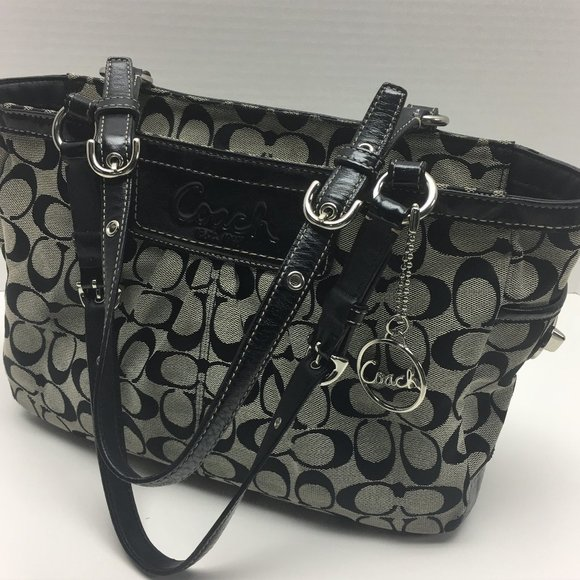 Coach Handbags - Authentic Coach East West Gallery Signature Purse
